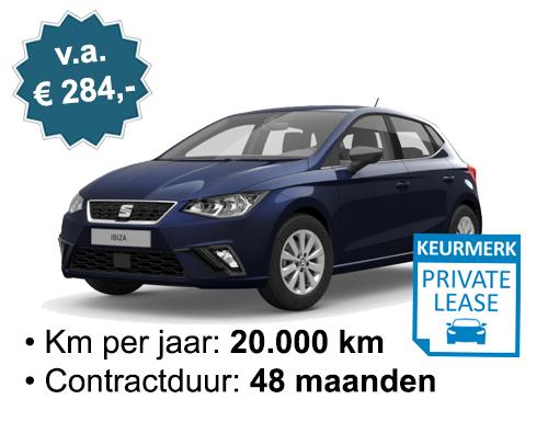Seat Ibiza 1.0 benzine 284