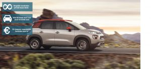 Banner Citroën c3 Aircross private lease