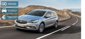 Banner Opel Astra ST private lease