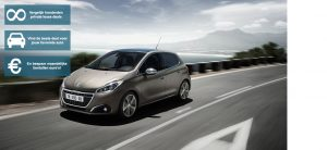 Banner Peugeot 208 private lease private lease wijzer