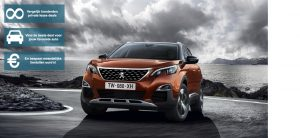 Banner Peugeot 3008 private lease