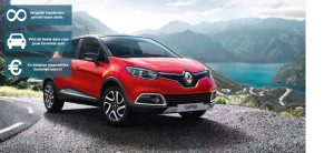 Banner Renault Captur private lease