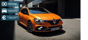 Banner Renault Megane private lease