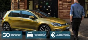 Banner Volkswagen Golf private lease