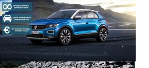 Banner Volkswagen T-ROc private lease
