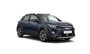 Kia Stonic darkblue black private lease wijzer