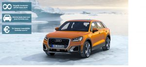 Banner Audi Q2 private lease
