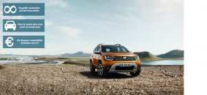 Banner Dacia Duster private lease