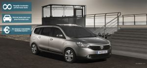 Banner Dacia Lodgy private lease