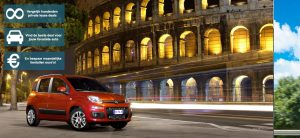 Banner Fiat 500 private lease