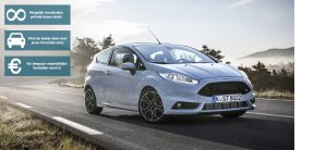 Banner Ford Fiesta private lease