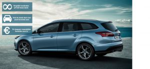 Banner Ford Focus Wagon private lease