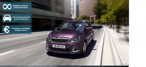 Banner Peugeot 108 Private Lease Wijzer
