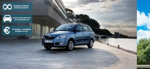 Banner Skoda Fabia Combi private lease