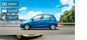 Banner Suzuki Celerio private lease wijzer