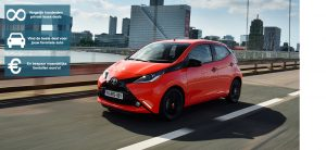 Banner Toyota Aygo private lease wijzer