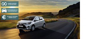 Banner Toyota Yaris private lease