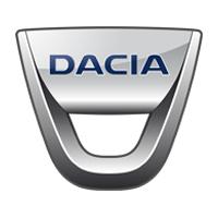 Dacia logo wit
