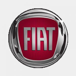 Fiat logo grijs