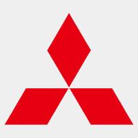 Mitsubishi logo grijs