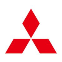 Mitsubishi logo wit