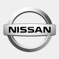 Nissan logo grijs