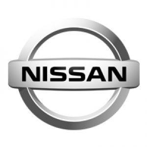 Nissan logo wit
