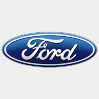 ford logo grijs